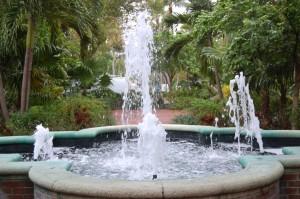 Fountain Leading to Truman's White House